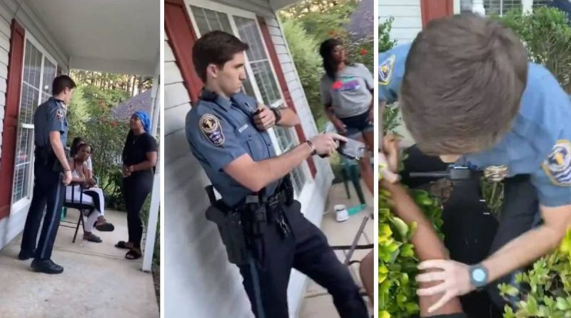 Georgia Cop Tases Black Woman In Her Own Home